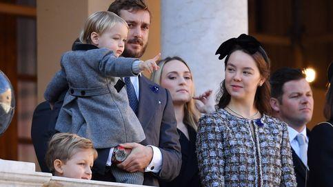 Por fin le vemos la carita a Stefano, el hijo mayor de Pierre Casiraghi y Beatrice Borromeo