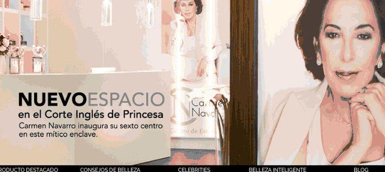 Foto: Carmen Navarro estrena Web