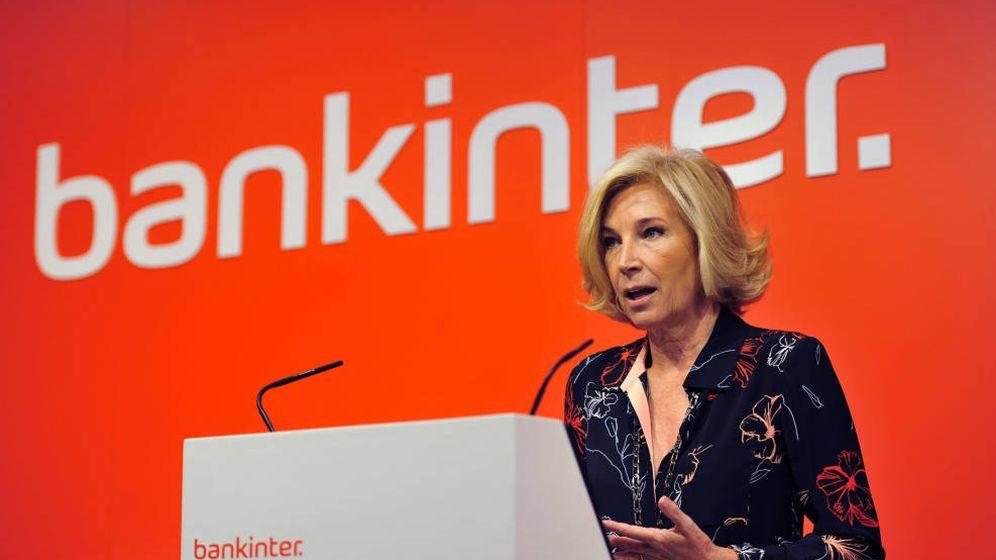 Foto: María Dolores Dancausa, consejera delegada de Bankinter.