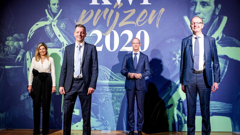 Máxima, en la entrega de premios Rey Willem I. (EFE)