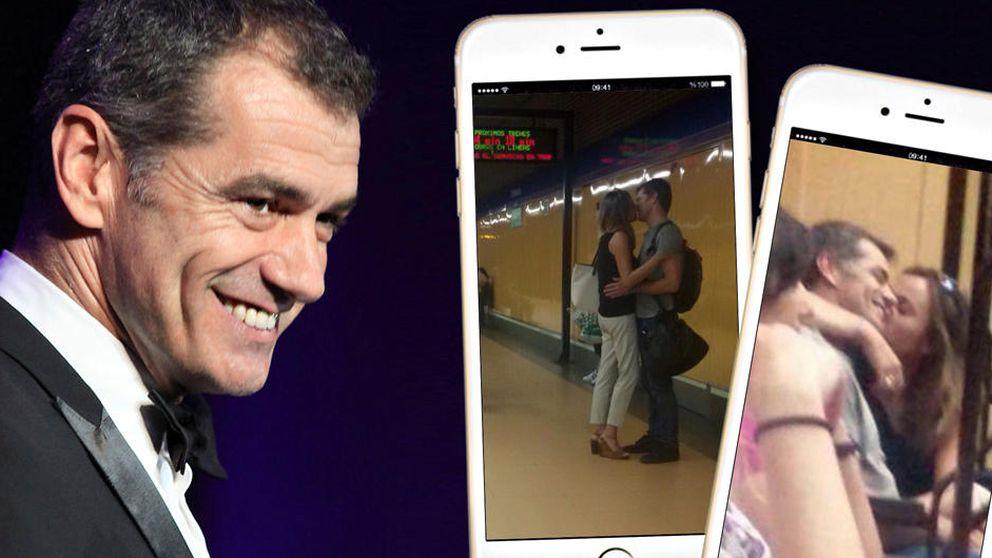 Toni Cantó, pasión en el Metro de Madrid con su nueva chica