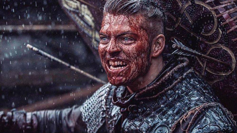 Foto: Ivar, en 'Vikingos'.