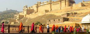Foto: Jaipur, una puerta al suntuoso pasado de los maharajás