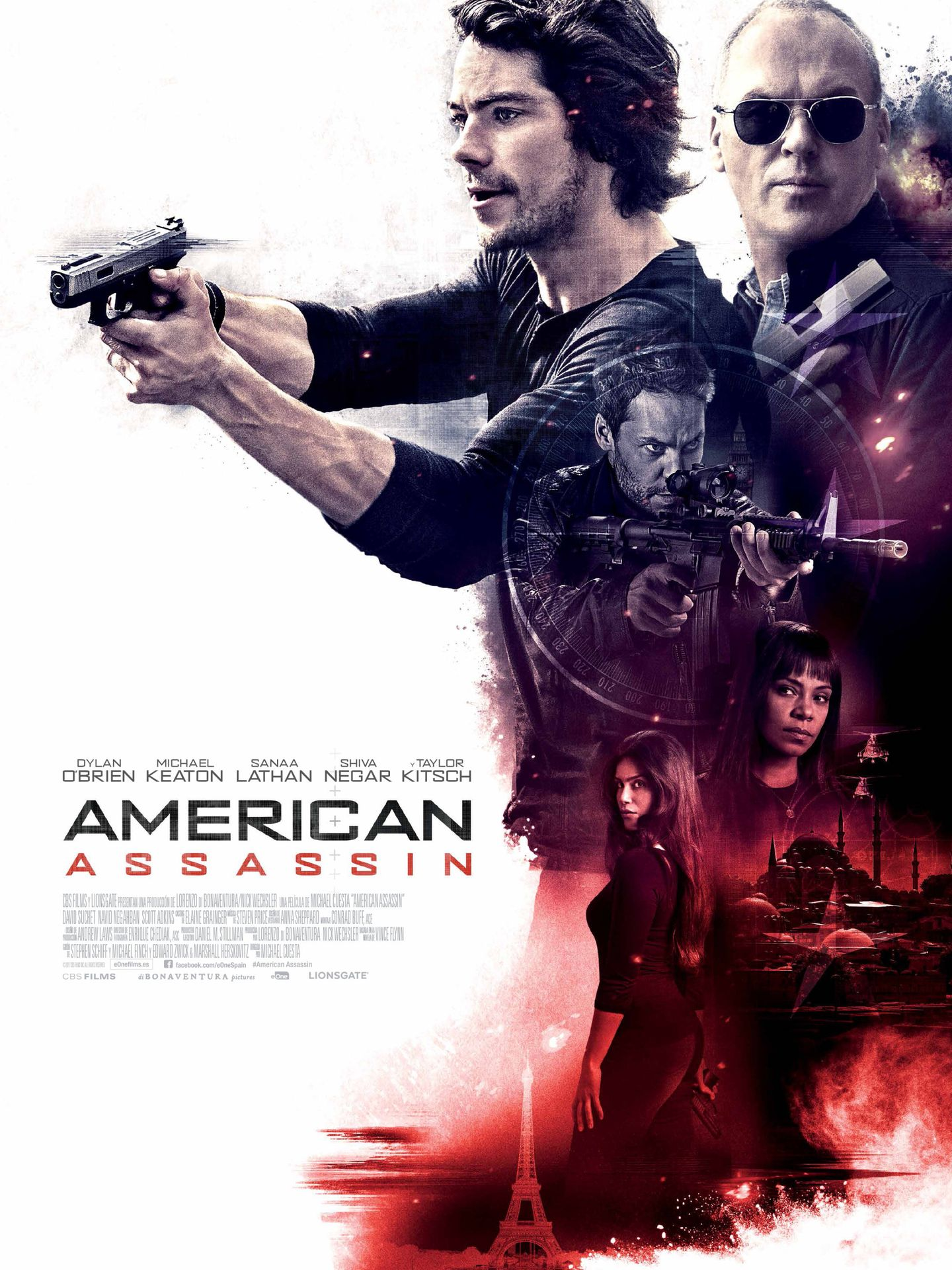 Cartel de 'American Assassin'.