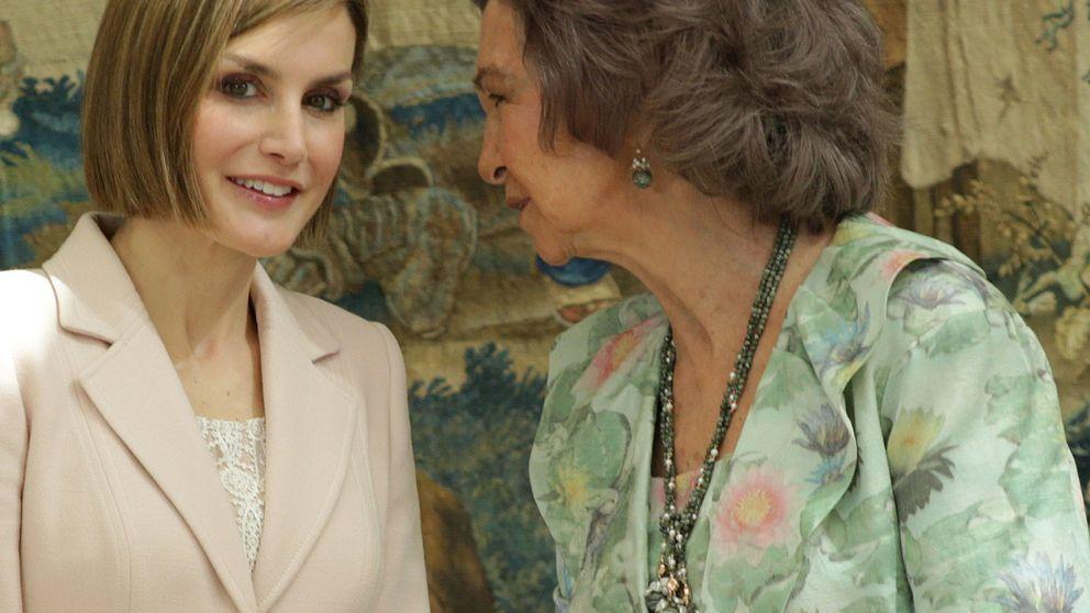 La Reina Letizia y Doña Sofía, juntas y cómplices por primera vez desde la proclamación