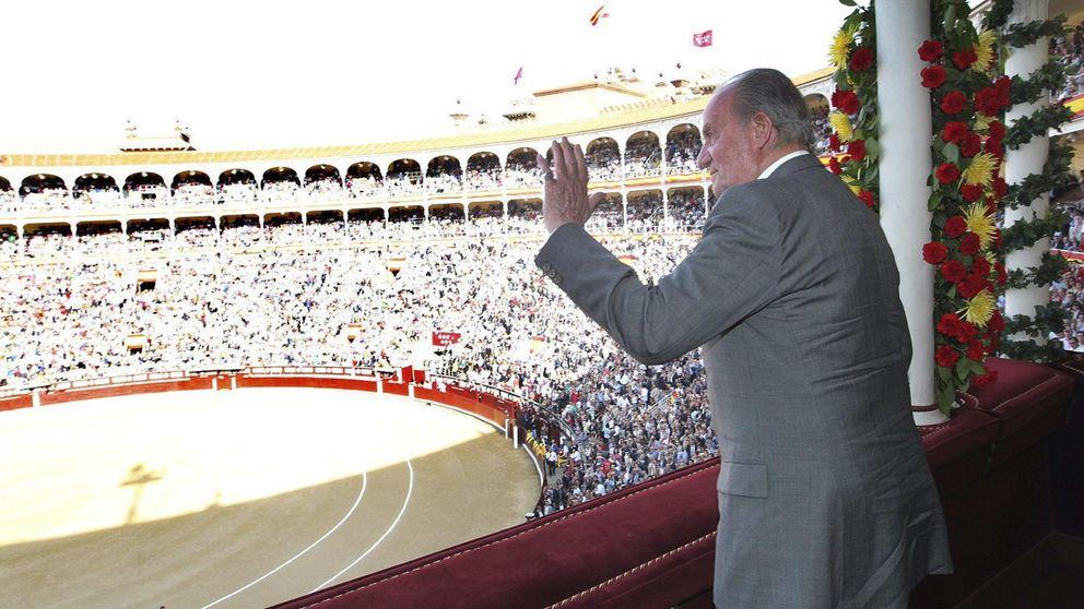 El Rey Juan Carlos, invitado de lujo a la corrida de toros de Brihuega
