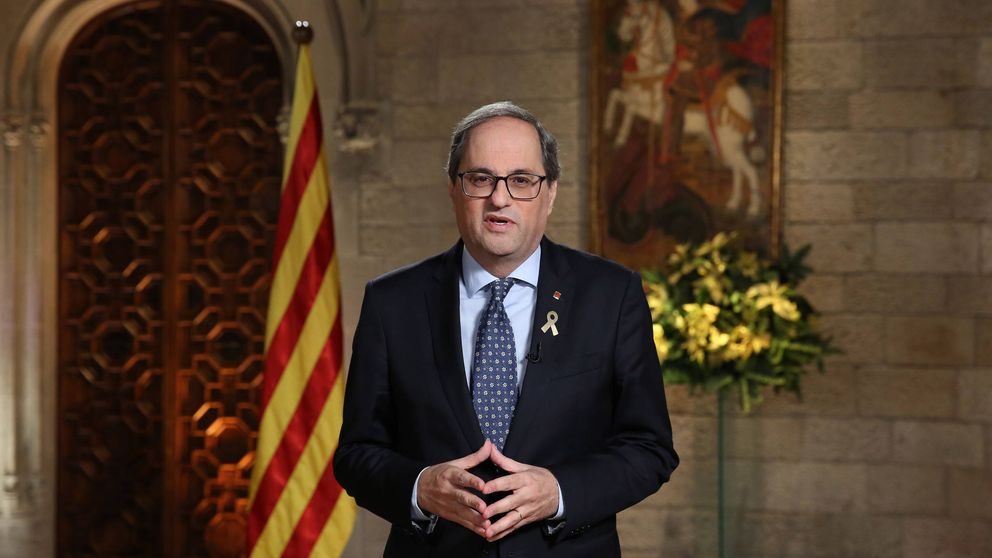 """Quim Torra defiende que 2019 debe servir para derribar los muros de la opresión"""""""