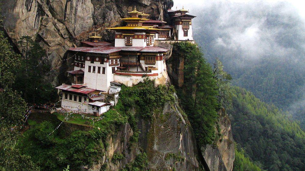 Foto: Monasterio de Taktsang Palphug, en Bután