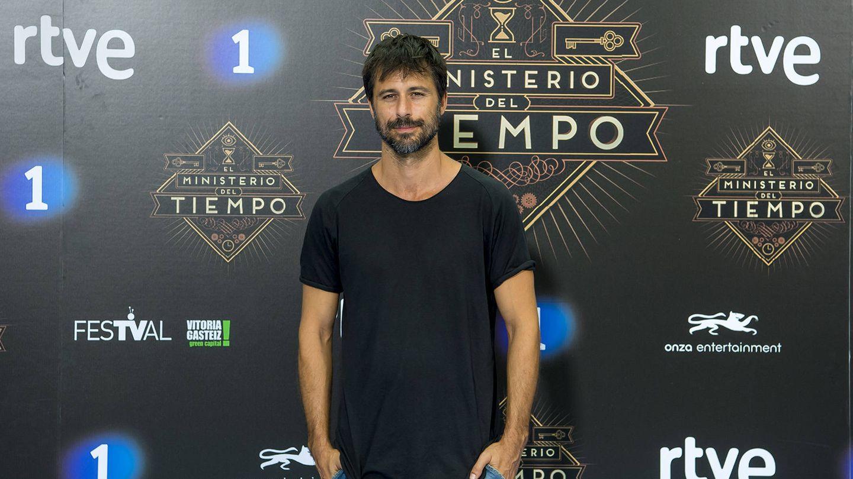 El actor Hugo Silva en el FesTVal. (RTVE)