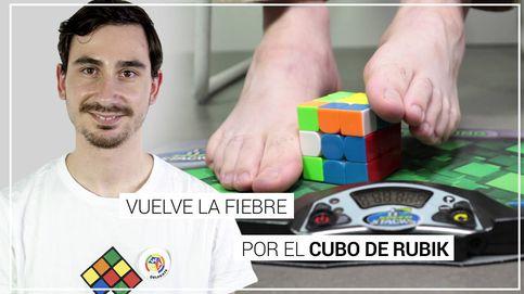 El gurú español del cubo de Rubik que lo resuelve hasta con los pies