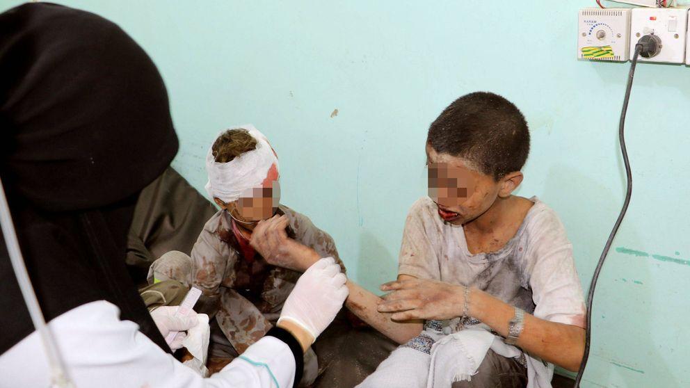 Atacan un autobús escolar en Yemen: Hay decenas de muertos y heridos