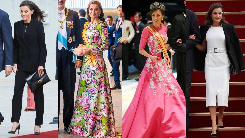 La Reina en Japón y llegando a Corea. (LP y EFE)