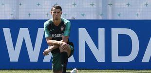 Post de Cristiano Ronaldo y el último gesto que le toca las narices por culpa de Griezmann