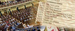 Foto: La Mesa del Congreso subvenciona el 'gin-tonic' a señorías e invitados: sólo costará 3,45 euros