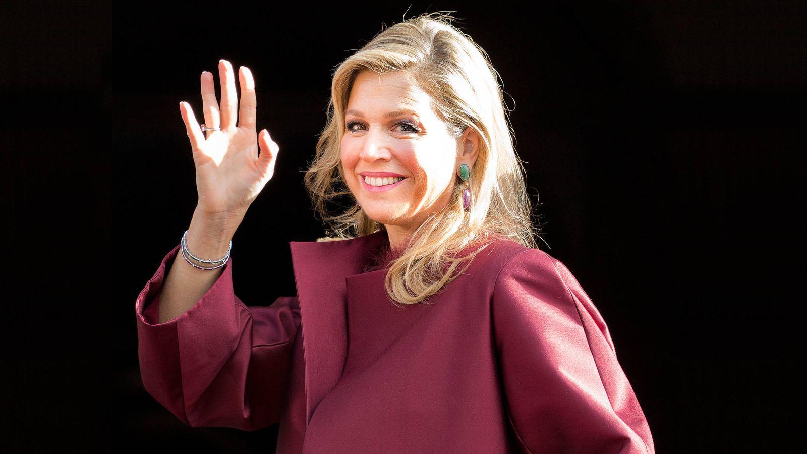 Foto: Máxima de Holanda, una de las royals que participan en el Foro de Davos. (Gtres)