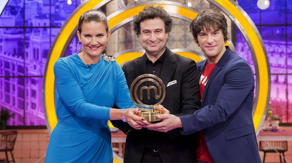 Foto: El jurado de 'MasterChef'. (RTVE)