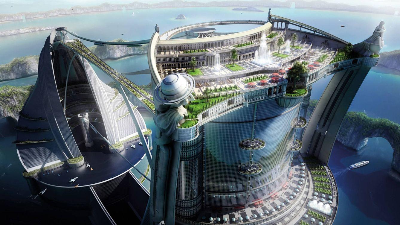 Foto: Prototipo de ciudad del futuro ambientado en Dubái.