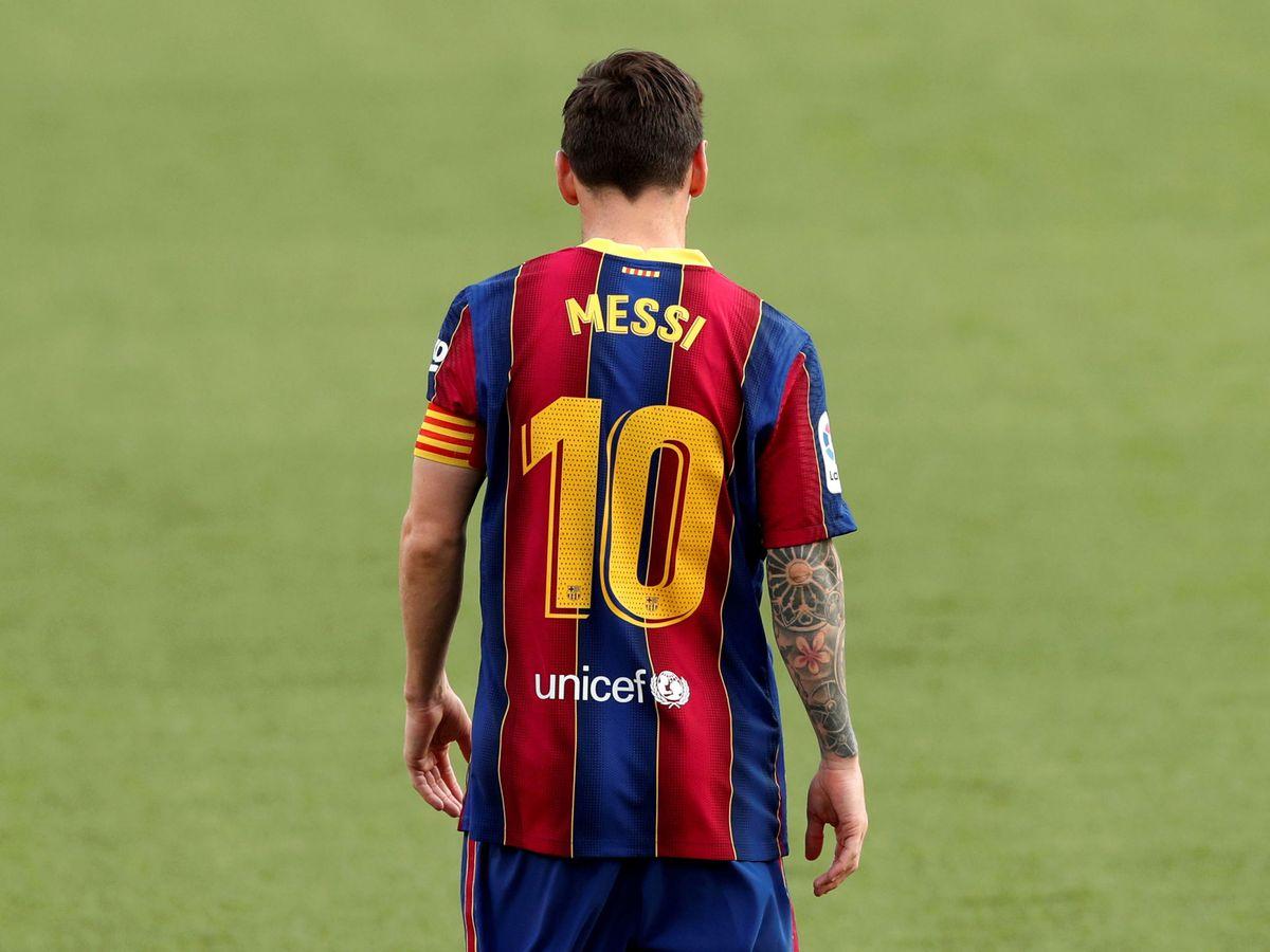 Foto: Leo Messi en una imagen de archivo. (Reuters)