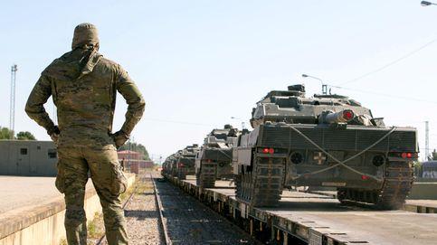 Cuando los militares jubilados españoles coinciden en Bruselas con los 'indepes'