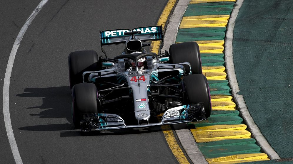 Foto: ¿Se habitual la exhibición de Lewis Hamilton en la clasificación del Gran Premio de Australia. (EFE)
