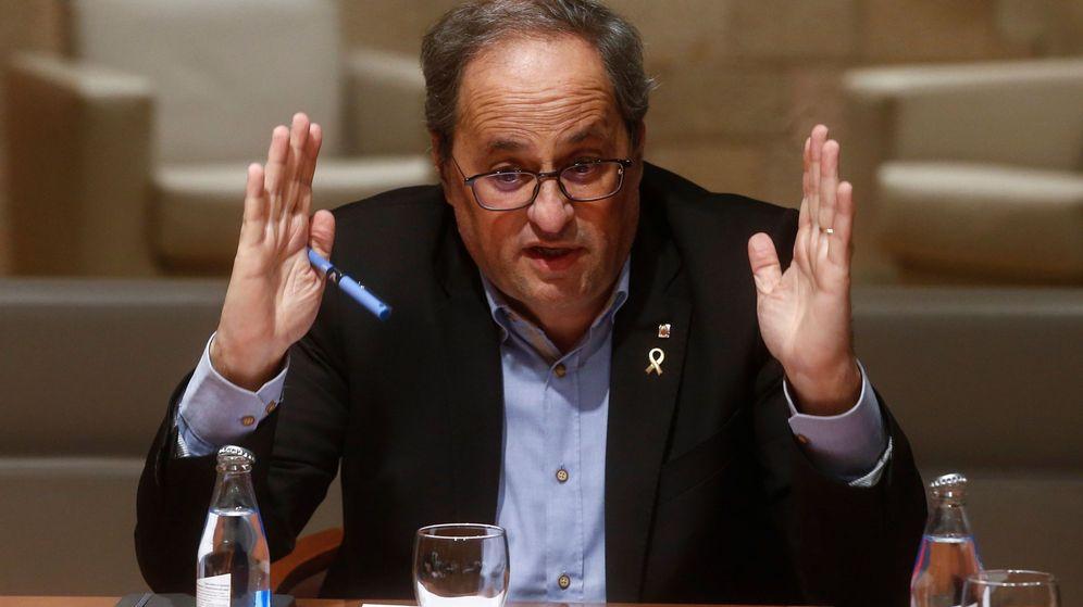 Foto: El 'president' Torra. (EFE)