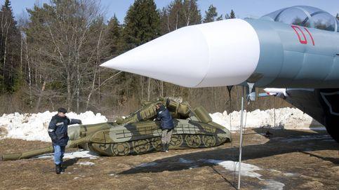 Vuelven los cazas rusos hinchables (pero ya no engañarán al enemigo)