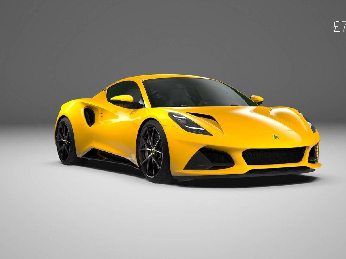 Foto: El Lotus Emira First Edition está disponible en seis colores, incluido este llamativo Hethel Yellow, pero en 2022 la paleta se ampliará.