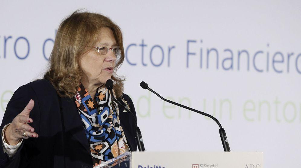 Foto:  La presidenta de la Comisión Nacional del Mercado de Valores (CNMV), Elvira Rodríguez (Efe)