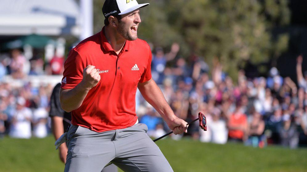 Foto: Jon Rahm, el nuevo chico de oro del golf. (Reuters)