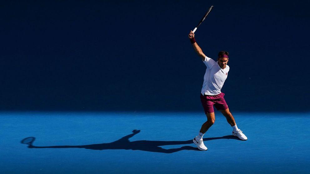 Los nervios de un Roger Federer diferente y su ¡fucking ball! en el Open de Australia