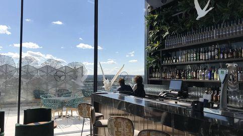 Ginkgo Sky Bar: comer y beber en el cielo de Madrid