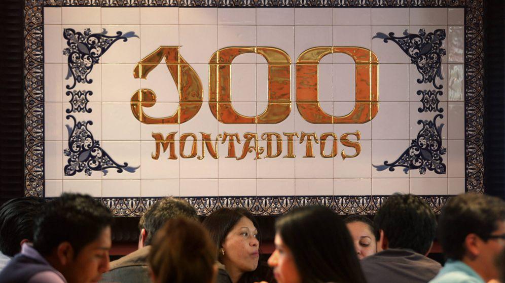 Foto: Un local de 100 Montaditos. (Efe)