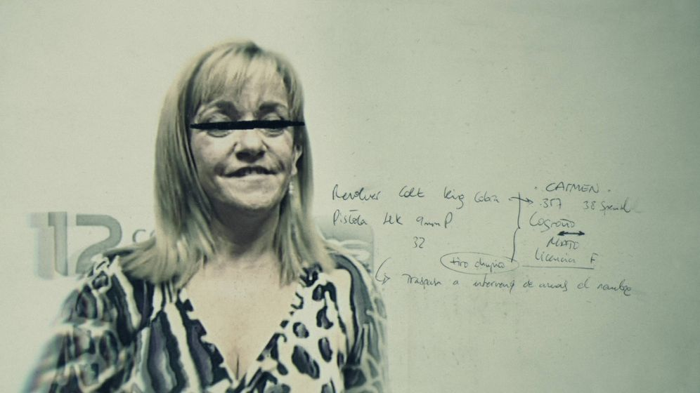 Foto: Isabel Carrasco en una foto promocional de 'Muerte en León'