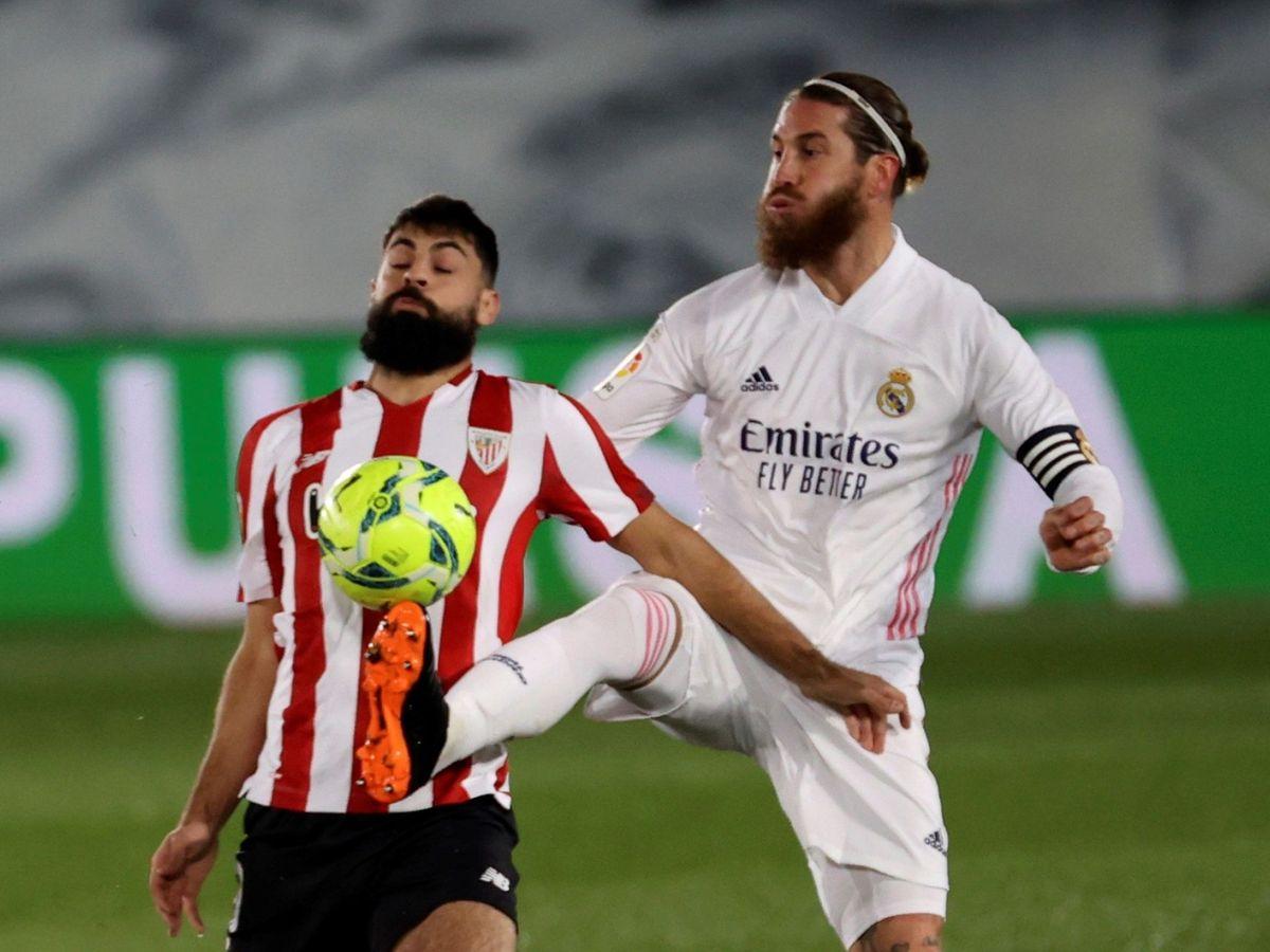Foto: Real Madrid vs Athletic Club. (EFE)