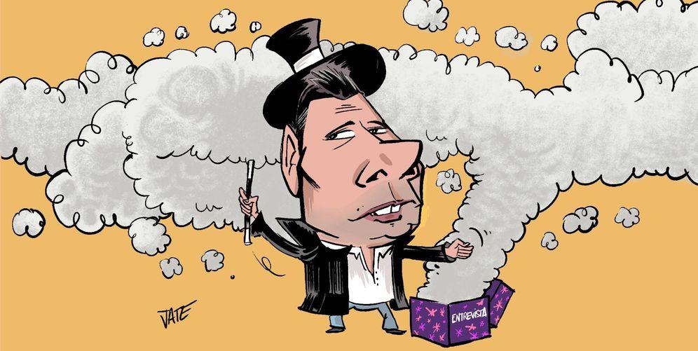 Foto: Fran Álvarez. Ilustración realizada por Jate para Vanitatis.