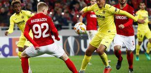 Post de Villarreal - Spartak de Moscú: horario y dónde ver en TV y 'online' la UEFA Europa League