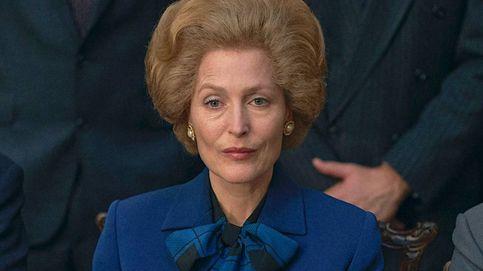 Gillian Anderson habla sobre Margaret Thatcher y trabajar con su pareja en 'The Crown'