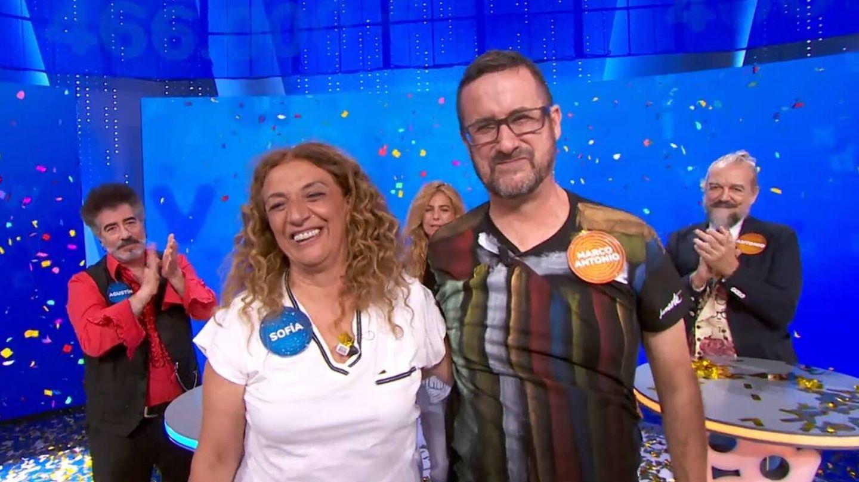 Sofía y Marco Antonio. (Atresmedia Televisión)