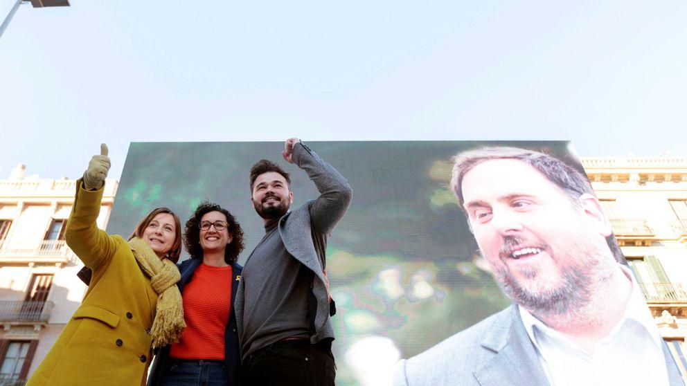 Forcadell en un acto de ERC: Los catalanes no permitirán que gobiernen los del 155