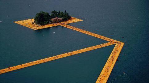 ¿Conoces el lago Iseo? Ahora puedes andar sobre sus aguas con Christo