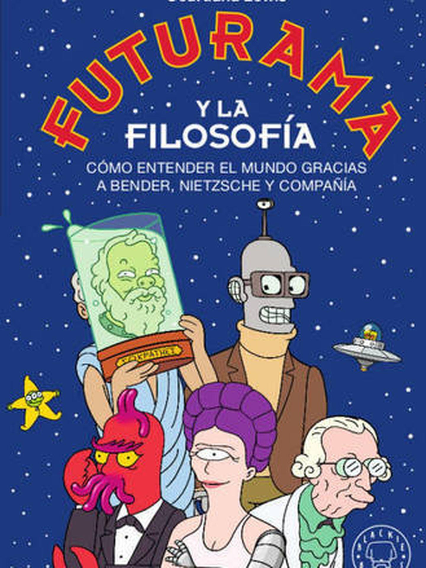 Portada de 'Futurama y la filosofía'