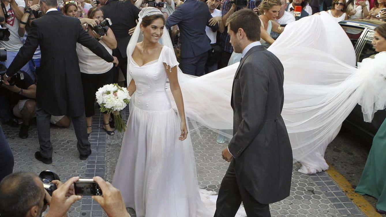 Foto: Así fue el vestido de novia de Lourdes Montes