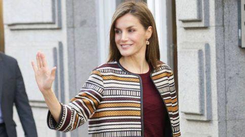 La Reina Letizia visita el rodaje de la nueva película de Rodrigo Cortés en Barcelona