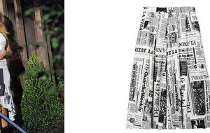 Una falda muy Carrie Bradshaw