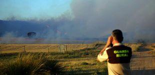 Post de El incendio en el Monte Yerga, en La Rioja, sigue activo y sin controlar