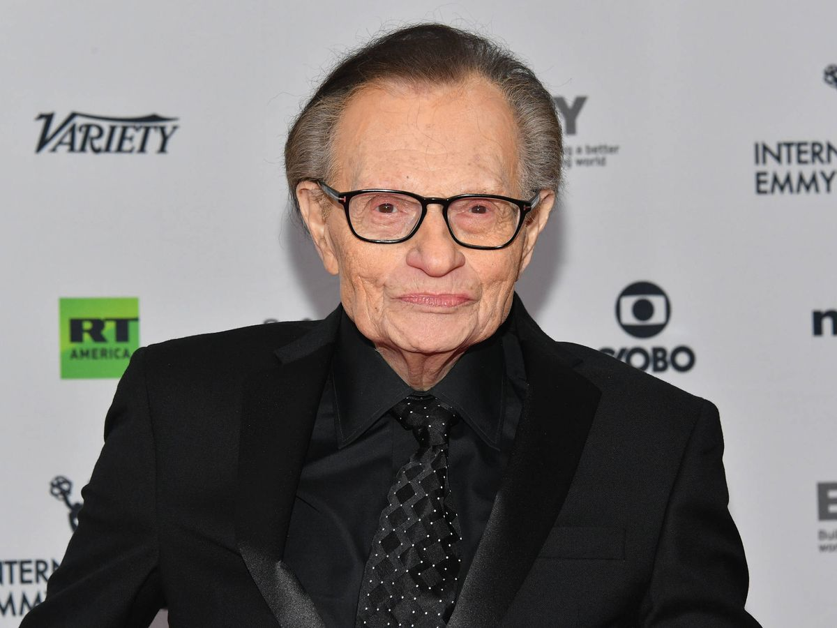 Foto:  Larry King. (Getty)
