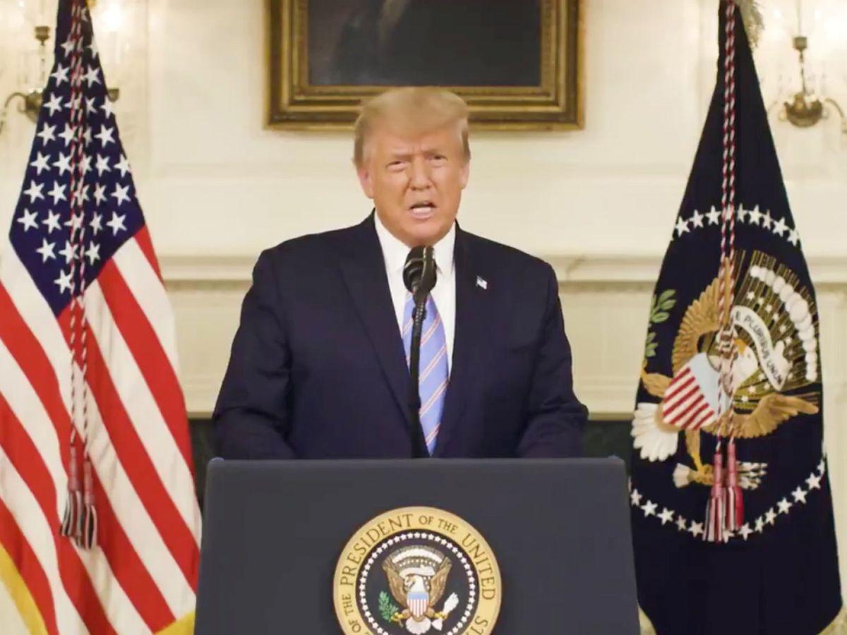 Foto: Trump. (Reuters)