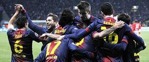 El Barcelona gana fácil en Moscú con Messi al mando y cierra su pase a octavos