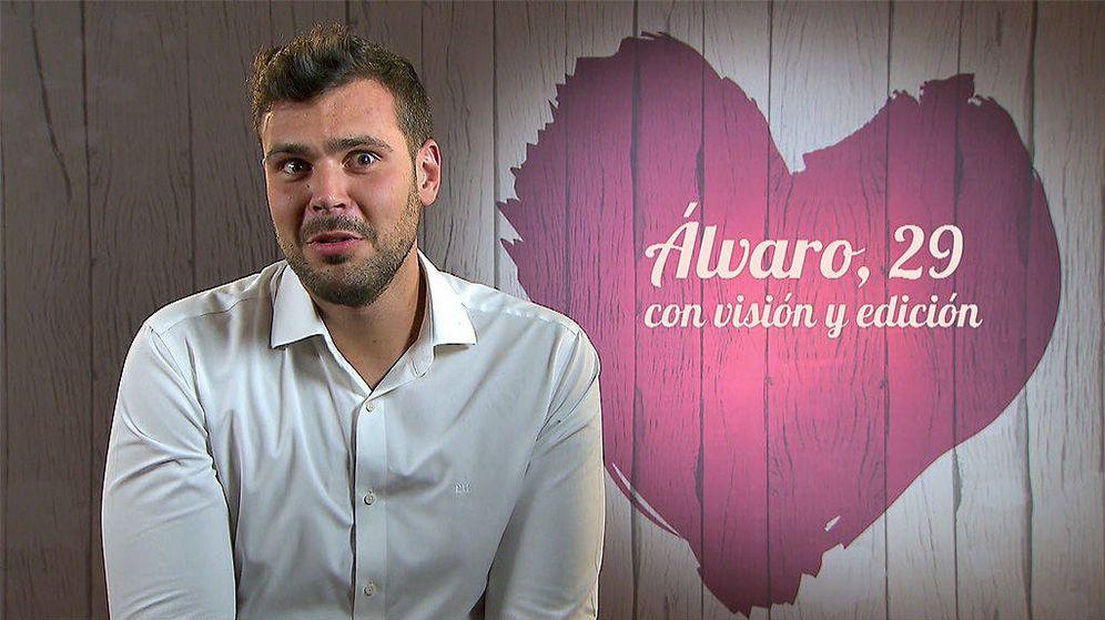 Foto: Álvaro, en 'First dates': Mi novia me dijo que viniera. (Cuatro)