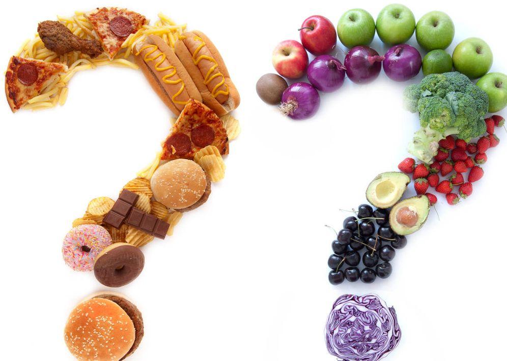 Foto: Elección de tipos de comida (iStock)